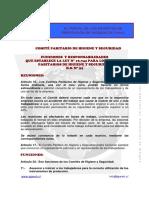 Funciones Responsabilidades CPHS