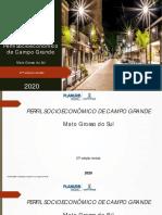 Perfil Socioeconômico de Campo Grande - 2020