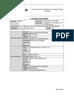 Formato evaluación