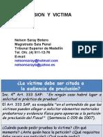 2- Preclusión y víctima