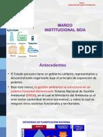 Marco Institucional SEIA