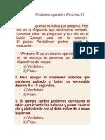 balota examen windows 10
