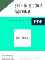 Atividade 06 - Inteligência Emocional (1)