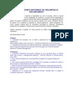 NOTIUNILE DE VOLUNTAR SI VOLUNTARIAT Hand-out 3