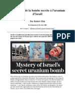 Fisk_Robert_-_Le_Mystere_de_la_bombe_secrete_a_l_uranium_d_Israel