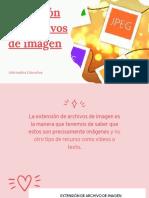 Extensión de Archivos de Imagen