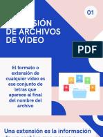 Extensión de Archivos de Vídeo
