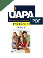 Español II Tarea #1 Unidad i..