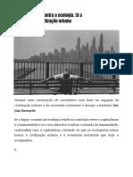 Post-scriptum_ Contra a Ecologia. 3) a Hostilidade à Civilização Urbana _ Passa Palavra