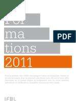 Catalogue des formations IFBL 2011