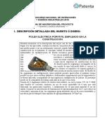 Polea eléctrica patente