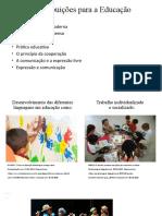 Contribuições Para a Educação