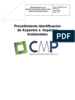 SGSSOMA-PIAA-CMP.procedimientos de Identificación de Aspectos e Impactos Ambientales