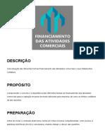 tema 3 - Financiamento das Atividades Comerciais