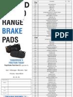 Pagid New To Range Brake Pads 1103_Layout 1