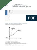 APOL 01 calculo diferencial e integral a uma variável