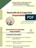 DESARROLLO DE LA CAPACIDAD EMPRENDEDORA. CLASE 1