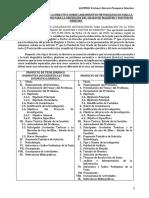 Informe Respecto de La Directiva Sobre Lineamientos Metodológicos Para La Elaboración de La Tesis Para La Obtención Del Grado de Magíster y Doctor en Derecho
