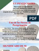 SHAVOUT PENTECOSTES