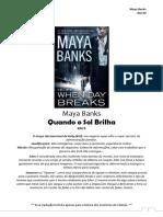 Maya Banks - 09 When Day Breaks (Série KGI).PDF