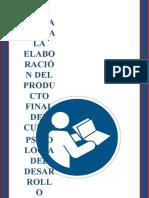 Pautas, Contenidos y Fichas Para El Video (Estudiantes) (1)