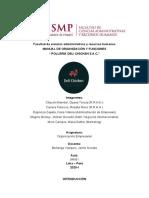 Monografía Org. Empresarial