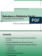 Estrutura & Dinâmica Social