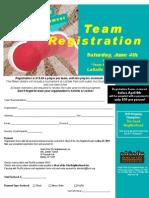 Kickball Registration Form Early Bird Special