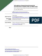 clubdelateta REF 109 Estudio italiano sobre crecimiento al pecho y formula en los 12 primeros meses de vida 1 0
