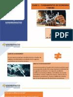 Clase 1 - Fundamentos de Economia y Micro
