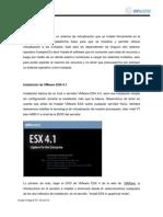 Virtualizacion.  Instalacion de VMware vSphere  4.1