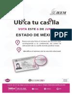 Ubicación e integración mesas directivas casillas Edomex