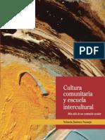 Cultura comunitaria y escuela intercultural