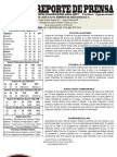 Reporte COMPLETO 11 Guaros - Marinos Juego 1