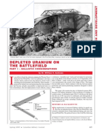 DU on the Battlefield - Ballistic Considerations - Part 1