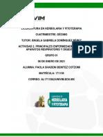 Cuestionario Diagn¢stico homeoptico act 2 PAOLA BENITEZ