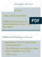 The Biblical Principles of Love - Copy