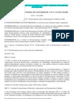 ARESOLUÇÃO CONSELHO FEDERAL DE CONTABILIDADE-DRE[1]