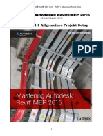 Mastering Autodesk Revit MEP 2016 Autodesk Official - German