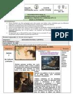 FICHA CURRICULAR  - ECA - 10mo A-B..PROYECTO 5 -SEMANA 2-3