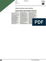 Learning by Doing, due i progetti vincenti - Il Corriere Adriatico del 3 giugno 2021