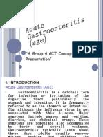 Acute Gastroenteritis (age)