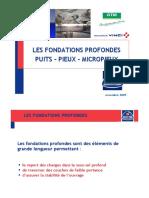 BSF Puits, Pieux, Micropieux ISBA