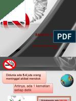 bahaya merokok ppt