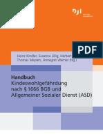 Kindeswohlgefährdung nach § 1666 BGB und Allgemeiner Sozialer Dienst (ASD)