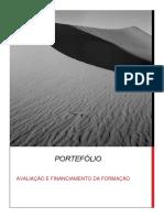 Portefólio Avaliação e Financiamento