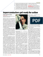 02 (1999) Superconductors Get Ready for Action