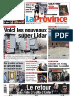 Journal La Province 04-06-2021