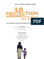 WV Child Protection Assessment Report
