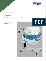 Draeger Caleo Incubator User Manual Es